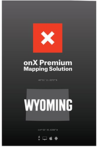 ONX Hunt: Wyoming Hunt Chip for Garmin GPS - Hunting Maps with Public & Private Land Ownership - Hunting Units - Includes Premium Membership Hunting App for iPhone, Android & Web