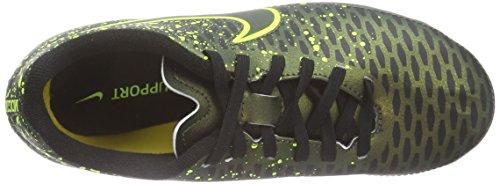 Nike Jr Magista Onda Fg, Zapatillas de Deporte para Niñas Dorado / Negro / Verde (Dark Citron / Drk Citron-Blk-Vlt)