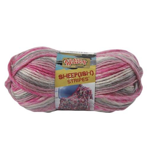 Spinrite Vickie Howell Sheep-ish Stripes Yarn, Femme-ish