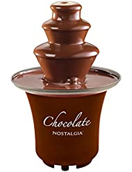 Nostalgia CFF300 3-Tier 1/2-Pound Chocolate Fondue Fountain