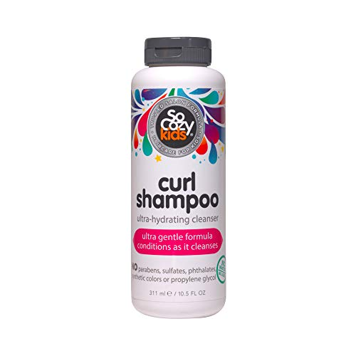 SoCozy Curl Shampoo Sweet-Crème, No Frizz or Fuss, Curls Done Right, 10.5 fl. oz.