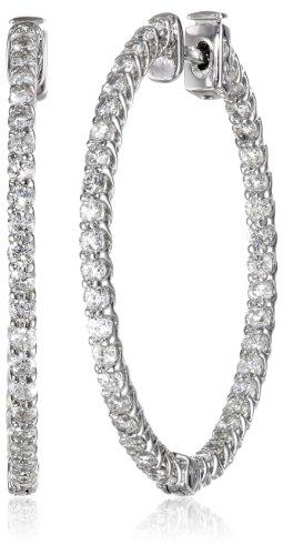 14kt White Gold Diamond Inside