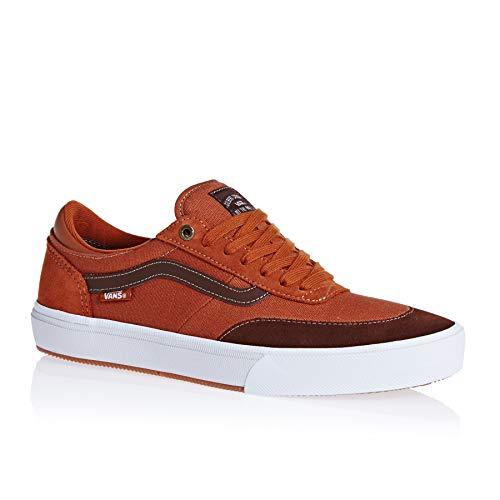 Vans Gilbert Crockett 2 Pro Shoes 13 D(M) US Leather Brown Potting Soil