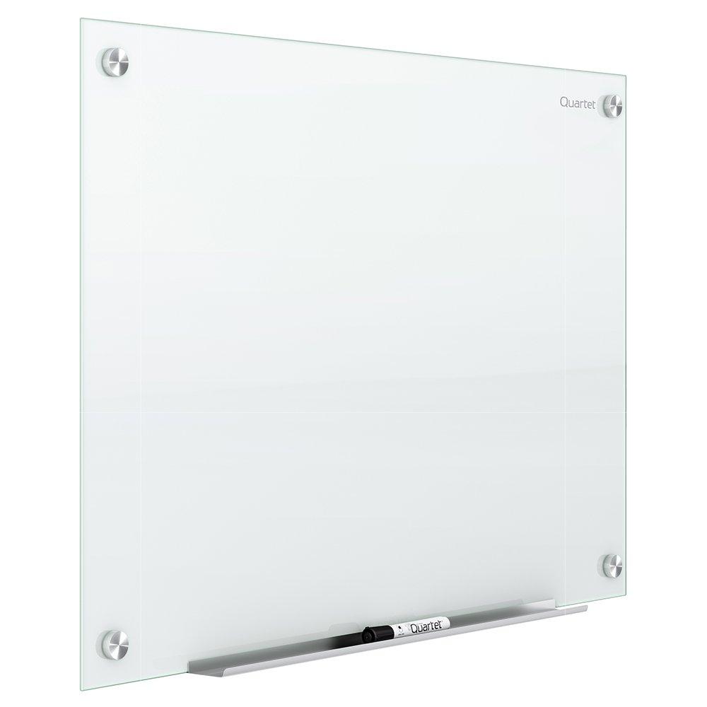 Quartet Glass Dry Erase Board, Whiteboard / White Board, 72'' x 48'', White Surface, Frameless, Infinity (G7248NMW)