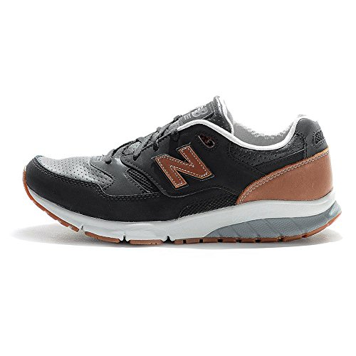 SNEAKER NB 530 VAZEE IN PELLE Nero