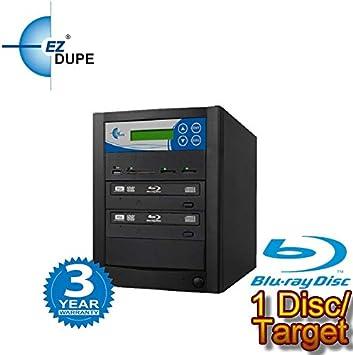 EZ DUPE High Speed Pro 52x CD Duplicator Black