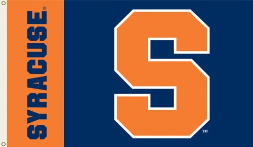 - NCAA Syracuse Orange 3-by-5 Foot Flag with Grommets