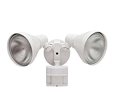 Defiant 110 Degree White Motion Sensing Outdoor Security Light