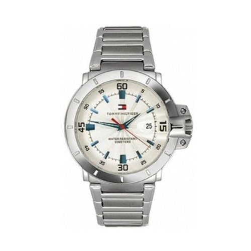 1805e5df1b2650 Buy Tommy Hilfiger Analog Silver Dial Men s Watch - NTH1790468J Online at  Low Prices in India - Amazon.in
