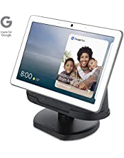[Official Made for Google] Wasserstein Adjustable Stand Compatible with Google Nest Hub Max - Perfect Companion for Your Nest Hub Max (Charcoal)