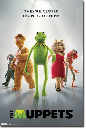 muppets animal poster