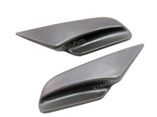 (Seat Repair Handles Isuzu Pickup 1989-2001 Amigo Pu Rodeo Trooper Neutral Gray)