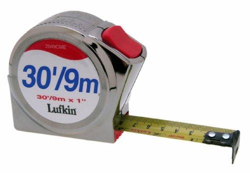 Lufkin 2049CME 25mm (1-Inch) by 9m (30-Feet) Series 2000 Power Return ()