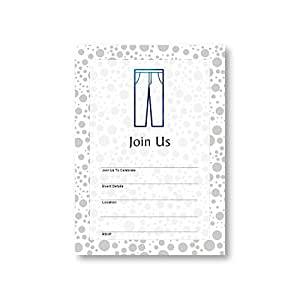 Amazon pants apparel trousers clothing attire flat party pants apparel trousers clothing attire flat party invitation card 12 cards at 5x7 stopboris Choice Image