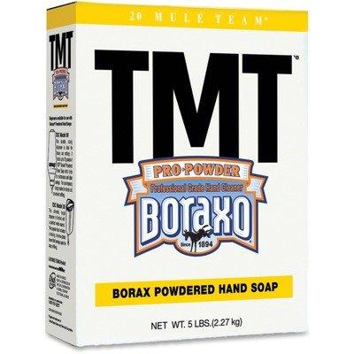 DIAL TMT Powdered Hand Soap with Borax, 5-lb. Box, 10/Carton