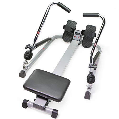 9TRADING Orbital Rowing Training Machine Rower Glider Cardio Fitness Work Out Home Gym,Free Tax,Delivered Within 10 Days
