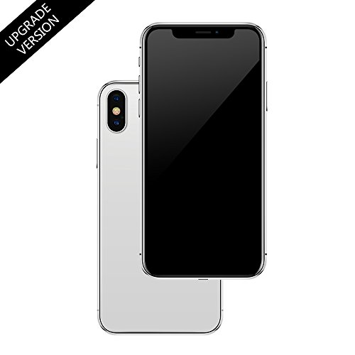 Non-working Replica 1:1 Phone Dummy Display Phone Model for Phone X 10 iX Fake Model Toy (Silver MenuScreen)