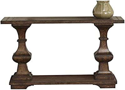Bowery Hill Console Table In Kona Brown