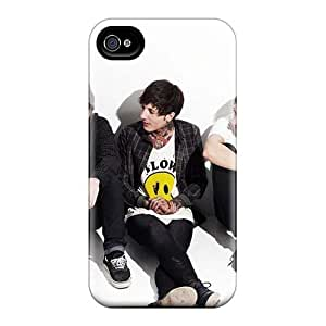 Cute Tpu Curry-cases Bring Me The Horizon Band Bmth Case Cover For Iphone 4/4s