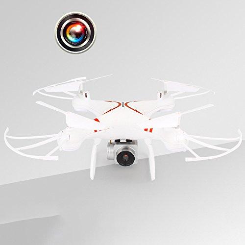 Haihuic 2018 NUOVO Drone ZSC-1 con fotocamera, Quadcopter anti-colpo con modalità Headless di Altitude Hold per principianti