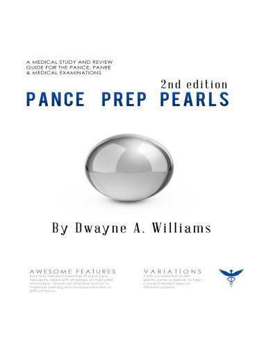Pance Prep Pearls 2nd Edition [1/19/2017] Dwayne A. Williams