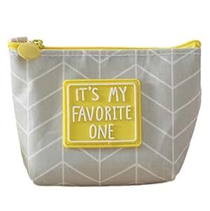 gespout bolsa de almacenamiento bolsa Cosmética Mini cartera lona Pochette portátil paquete de llave una Variété de Styles 12* 3.5* 9cm