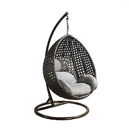 Hindoro Indoor Outdoor Furniture Rattan & Wicker Hanging Swing