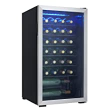 Danby DWC93BLSDB 36 Bottle Freestanding Wine Cooler