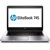 HP EliteBook 745 G2 Notebook PC - AMD A6 Pro-7050B 2.2GHz 8GB 500GB Windows 10 Professional (Certified Refurbished)