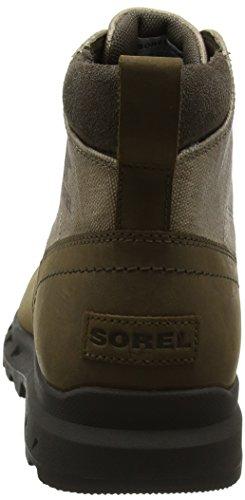 SOREL Men's Portzman Moc Toe Ankle Boot Major, Concrete