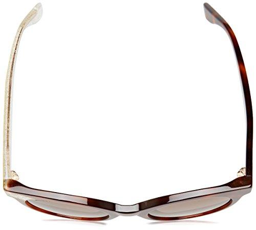 47f4328e9181e1 ... Jimmy Choo Mirta lunettes de soleil la Havane or scintillant MIRTA S  Q3Y 49 Hvna