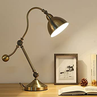 MDRW-Lámpara de mesa creativosPueblo americano forja lámpara ...