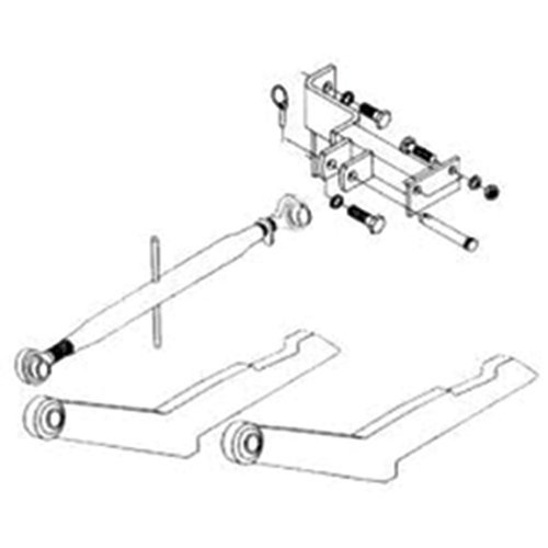 2-Point Hitch Conversion Kit International 400 by All States Ag Parts