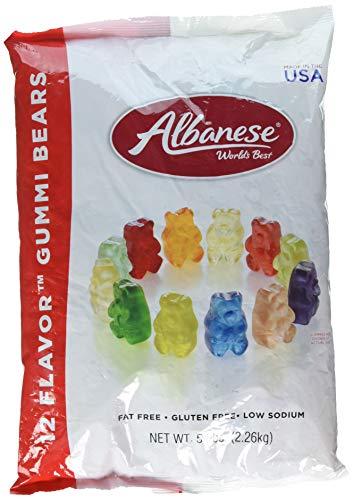 Albanese Gummi Bears, 5lb Sealed Bag