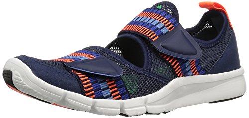 adidas Performance mujer Zilia cross-trainer Shoe Night Indigo/Solar Orange/Lucky Blue