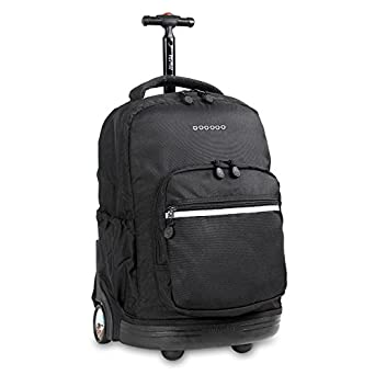 Amazon.com | J World New York Sunrise Rolling Backpack | Casual ...