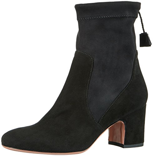 Oxitaly Ladies Rosetta Short Boots Black (nero)