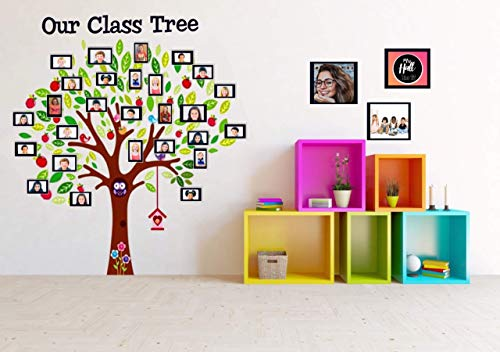 Classroom Decoration Class Tree Wall Decal Sticker with Picture -
