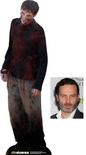 Fan Pack - Yuppie Zombie from The Walking Dead Lifesize Cardboard Cutout / Standee - Includes 8x10 (20x25cm) Star Photo