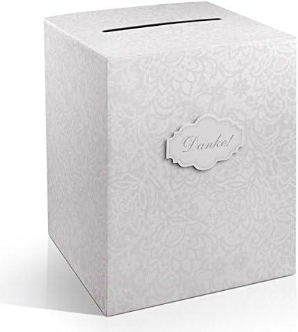 P&D Caja de Dinero/Tarjetas de Regalo Box Agradecimiento Bodas ...