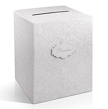 Amazon De Geldbox Geschenkkarten Box Danke Zur Hochzeit
