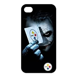 NFL Seattle Seahawks For Iphone 4/4S Cover Case Cover The Joker; Poker Play Card For Iphone 4/4S Cover