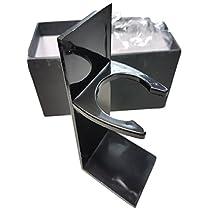 Black Acrylic Long Shaving Brush Stand