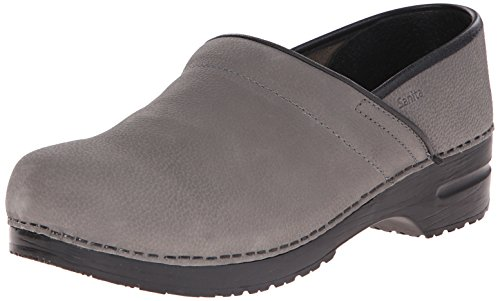Sanita Mens Professional Clog Gray