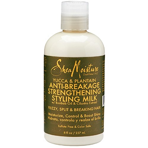 SheaMoisture 8 oz Yucca & Plantain Anti-Breakage Strengthening Styling Milk