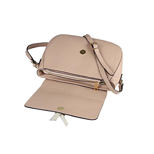 OBC Only-Beautiful-Couture, Borsa a spalla donna marrone cognac ca.: 17x25x10 cm (BxHxT) rosa antico
