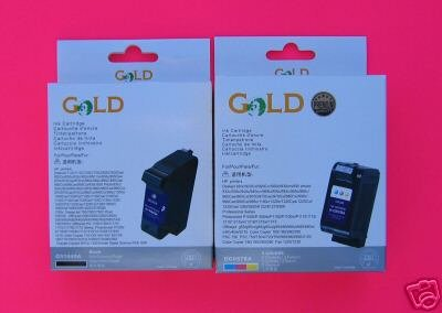 Generic  GOLD Compatible Ink Cartridge Replacement for HP...