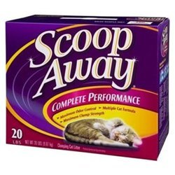 Scoop Away Clean Multi-Cat Formula Cat Litter (Track Cat Litter Clumping Low)