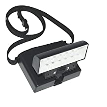 Beam N Read LED 6 Deluxe Hands Free Light; Extra Wide & Extra Bright Light from 6 LEDs Plus Clip-on Orange and Red Relaxation Filters