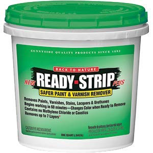 Back to Nature RS25 Qt Ready Strip Safer Paint & Varnish Remover w/Color Change - 6ct. Case ()